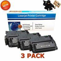 3PK Black Toner Cartridge for HP Q5942A 42A LaserJet 4200 4300 4350 4250dtnsl
