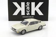 Audi 100 Coupe S Baujahr 1970 weiß 1:18 KK-Scale