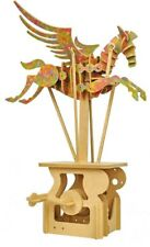 Automatakits. Pegasus hand operated automata kit - coloured