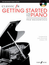 Classic FM Getting Started on the Piano Piano Solo Beginner FABER Music BOOK &CD