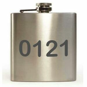 '0121' 6oz Hip Flask
