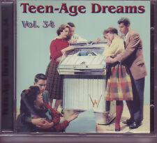 V.A. - TEEN-AGE DREAMS Vol.34 Popcorn & Teenage CD