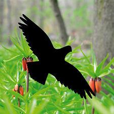 10 Aufkleber 20cm schwarz Vogel Fenster Folie Warnvögel Vogelschutz Vogelschreck