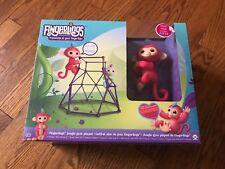 New Fingerlings Monkey Bar Play Set - Liv Jungle Gym Swing Play Set - NIB