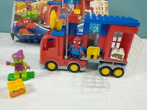Lego Duplo 10608 Spiderman Spider Truck Adventure Complete W Box No Instructions