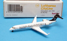 Herpa 510912: LUFTHANSA Canadair Jet 700, Reg. D-ACPS, Maßstab 1:500 [C12]