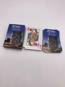 Las Vegas Riviera Casino Souvenir Playing Cards
