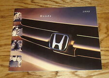 Original 1998 Honda Full Line Sales Brochure 98 Accord Civic CR-V