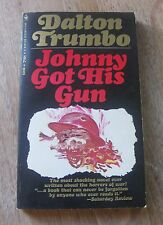 JOHNNY GOT HIS GUN by Dalton Trumbo - 1st printing PB Bantam 1967 - near fine