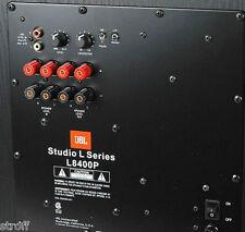 JBL SUBWOOFER AMPLIFIER REPAIR SERVICE, Model # L8400P Amp Plate, 1 YR Warranty
