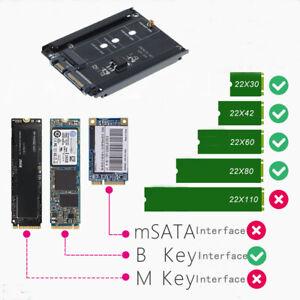 AU M.2 SSD to 2.5'' SATA Adapter Converter Open-Frame Bracket Hard Drive Adapter