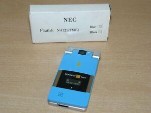 NEC Flatfish N412i (TME) Blue Renault F1 Team Movistar movil simulado NO REAL!