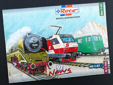 "Roco Modelleisenbahnen Katalog ""News 97"", DIN A4, 32 Seiten, Neu!"
