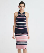 Superdry Womens Verigated Stripe Midi Dress