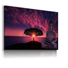 GAUTAMA BUDDHA INDIA SUNSET CANVAS WALL ART PICTURE WS181  MATAGA