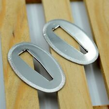 Silver Seppa Sword Washer Spacer for Japanese Samurai Sword maintainence 2 Pcs