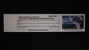 DR JIM STAMPS US STATE DUCK $5 ALASKA WATERFOWL AK-4 1988 MINT NH