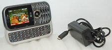LG VN251 Cosmos 2 Verizon SILVER Cell Phone 1.3 MP Slider Full Qwerty Keys -C-