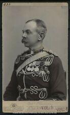 Vintage Viscount World War I: Herbert Plumer Cabinet Card Photograph c. 1900