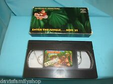 Super Nintendo Donkey Kong Country Exposed Enter Jungle Nov 21 1994 VHS Video