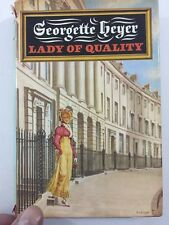Lady of Quality - Georgette Heyer (1972, Hardcover, Dust Jacket, 1st Edition)