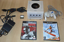 console nintendo Gamecube blanche email + manette + 2 jeux + memory