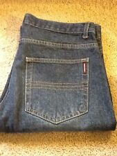 REPORT COLECTION MEN'S JEANS MADE IN ITALY 32 X 26 (MEASURES 33 X 26) DARK WASH