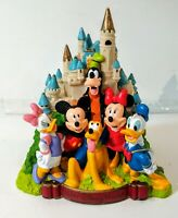 Walt Disney World Castle Coin Bank Mickey Mouse! Excellent Vintage Rare!