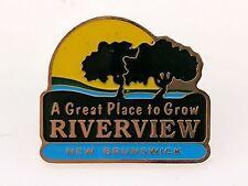 Riverview New Brunswick Lapel Pin A Great Place to Grow Tourism Souvenir Canada