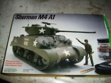 1/35 Testors Italeri Sherman M4 A1 Tank Armor Plastic Scale Model Kit NOB