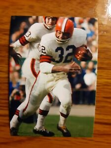 Jim Brown Browns Football 4x6 Game Photo Picture Card