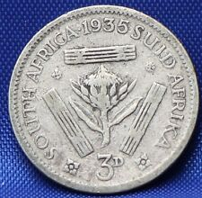Zuid Afrika - South Africa 3 Pence 1935 Silver - KM# 15.2