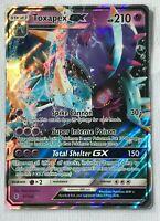 Toxapex GX ULTRA RARE 57/145 SM Guardians Rising Pokemon NM HOLO