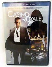 James Bond 007 Casino Royale (DVD, 2007, 2-Disc Set, Full Frame) Action Movie