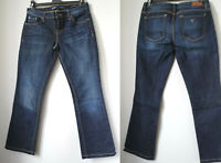Jeans GUESS LOS ANGELES 1981 BOOT MID WOMENS BLUE donna 29 M L 42 44