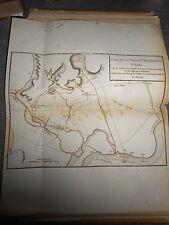 49 - CARTE MAP PLANS Campagne ITALIE 1745 & 1746 VILLE CHÂTEAU D'ASTI 1775