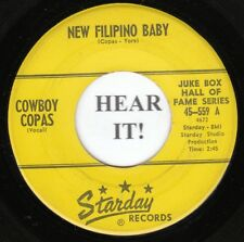Cowboy Copas HLLBLLY MOVER 45 (Starday 559) New Filipino Baby/Signed Sealed and
