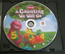 Barney A-Counting We Will Go DVD
