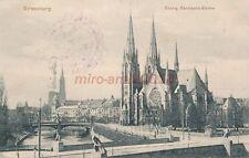 AK, Grafik, Strassburg - Blick auf Evang. Garnisions Kirche, 1915; 5026-76