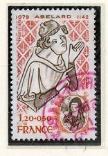 TIMBRE FRANCE OBLITERE N° 2031 PIERRE ABELARD / Photo non contractuelle