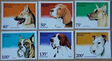 1995 Dogs MNH Stamps from Benin
