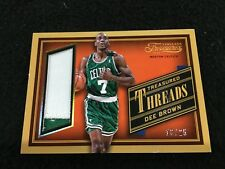 Dee Brown Celtics 2013-14 Panini National Treasures 2 Color Patch Card #d 18/25