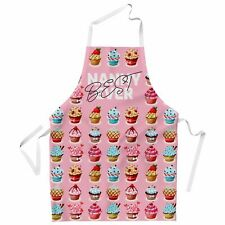 Best Nanny Ever Cupcake Apron for Women Mother Cooking Kitchen Baking Gift Nan