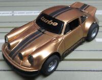 Pour H0 Circuit Routier Électrique Course Modellbahn Porsche de Turbo avec Tyco