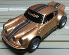 For H0 Slotcar Racing Model Railway Porsche Turbo with Tyco Chassis