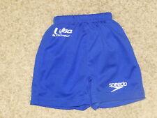 Speedo UV Swim Diaper Trunks Blue Small S 0-6 Months