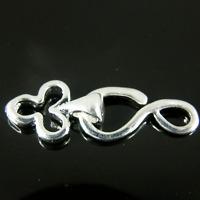 Hook & Eye Club Shape Silver Plated jewellery making Finding Clasps 5 10 30 K347