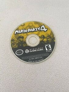 Mario Party 4 (Nintendo GameCube, 2002) Disk only! Tested & Working!