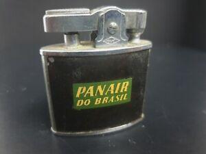 Antique Cigarette Lighter Omega Advertising Panair Brazil airlines PAT 412770