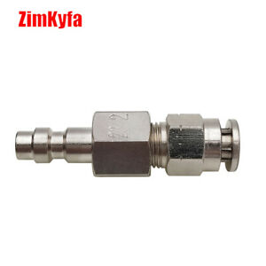 Airsoft HPA 23-2 Male Quick Disconnect QD Push-In Fitting auf 1/4'' AD Schlauch